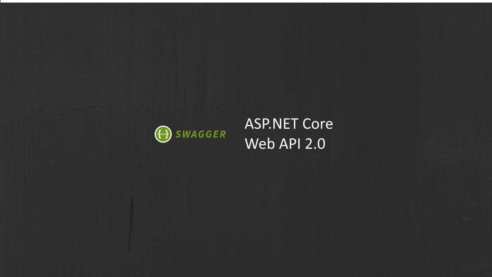 Swagger and Swashbuckle with ASP NET core 2 Web API
